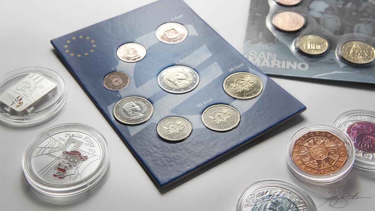 Euro Münzen Welt Basar