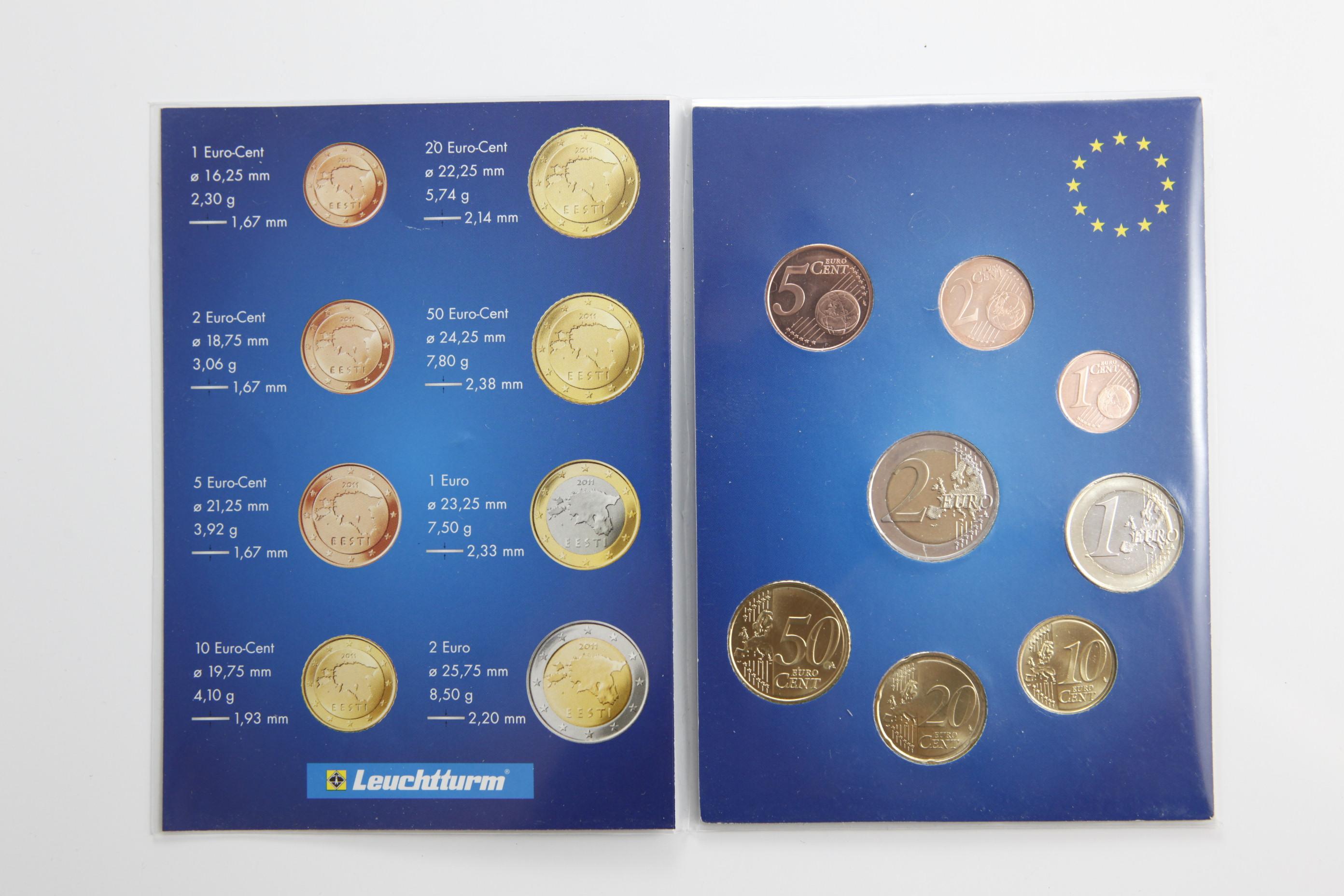 Euro Münzen Estland